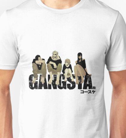 Gangsta anime manga Unisex T-Shirt