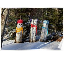 The Snowpeople of Rte 124 Poster