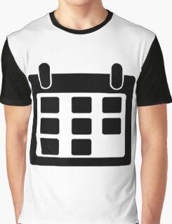 Calendar Symbol Graphic T-Shirt