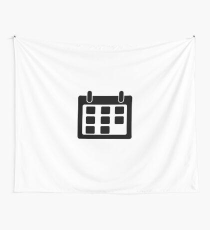 Calendar Symbol Wall Tapestry