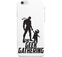 The Geek Gathering Duvet Cover iPhone Case/Skin