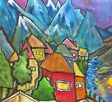 Alta Badia Village by couellet