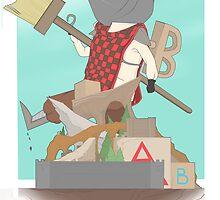 Broom Knight by JGomezWeaver