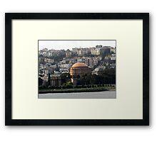 PALACE OF FINE ARTS SAN FRANCISCO, CALIFORNIA Framed Print