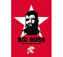 Big Boss Photographic Print