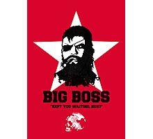 Big Boss Photographic Print