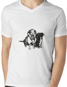 Rudy and Roxy Mens V-Neck T-Shirt