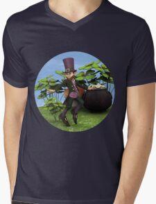 Pot of Gold Mens V-Neck T-Shirt