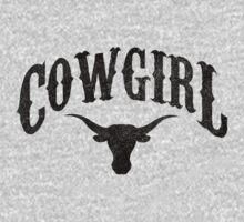 Cowgirl - Longhorn by J B