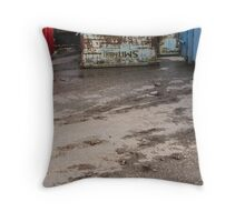 The containers II Throw Pillow