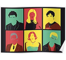 Buffy pop art poster Poster