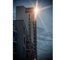 Turn on the Bright Lights Photographic Print