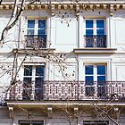 Parisian Building by PatiDesigns