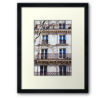 Parisian Building Framed Print