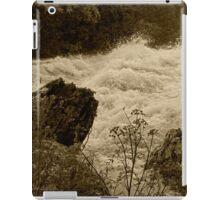 the raging waves iPad Case/Skin