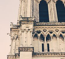 Notre Dame Closeup by PatiDesigns