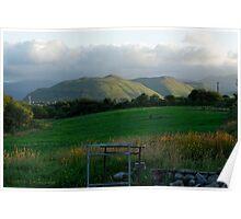 Far away hills Poster