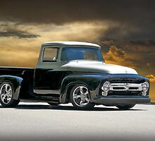 1956 Ford Custom F100 by DaveKoontz