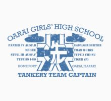 Oarai Girls' Tankery Team  by EpcotServo