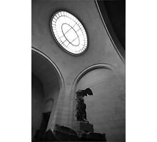 Nike Louvre Photographic Print
