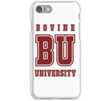 Bovine University - Simpsons iPhone Case/Skin