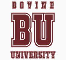 Bovine University - Simpsons Baby Tee
