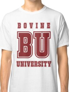 Bovine University - Simpsons Classic T-Shirt