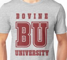 Bovine University - Simpsons Unisex T-Shirt