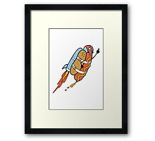 The Fastest Food Framed Print