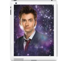 The 10th Doctor in Space iPad Case/Skin