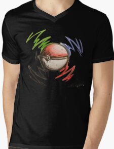 Pokeball! Mens V-Neck T-Shirt