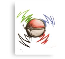 Pokeball! Canvas Print