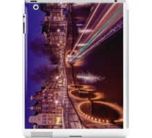 Amsterdam canal at night iPad Case/Skin