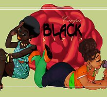 Carefree Black Girls by freddinF