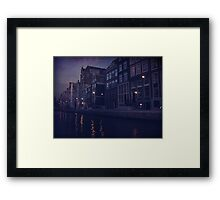 That Evening in Amsterdam Framed Print