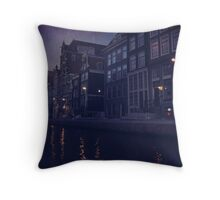 That Evening in Amsterdam Throw Pillow