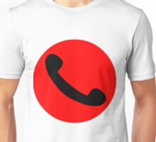 Phone Symbol Unisex T-Shirt