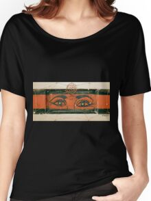 Spider Eyes Watching You Women's Relaxed Fit T-Shirt