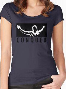 Arnold Schwarzenegger - Conquer Women's Fitted Scoop T-Shirt