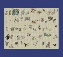 Vintage pokemon collection 2 by nomnomnomdesigs