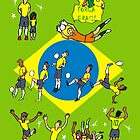 Worldcup 2014 BRASIL by colortown