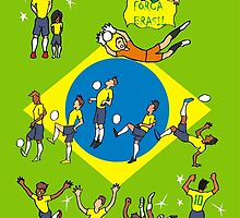 World Cup 2014 BRASIL by colortown