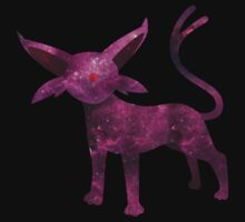Espeon Silhouette by cluper