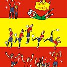 World Cup 2014 ESPAÑA  by colortown