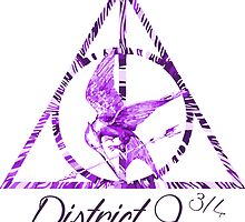 District 9 3/4 - Purple by Bocaci