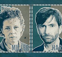 UK DS Miller & DI Hardy - Broadchurch Green by ifourdezign