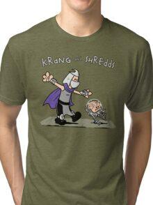 Krang and Shredds Tri-blend T-Shirt