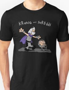 Krang and Shredds Unisex T-Shirt