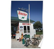 Route 66 - Sinclair Station Poster