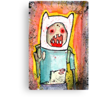Finn the zombie Canvas Print